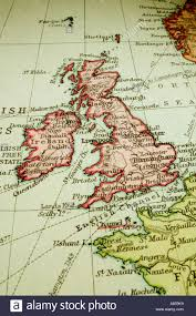 Map Of England And France by Antique Map Of Britain Stock Photos U0026 Antique Map Of Britain Stock