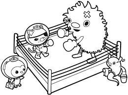 boxing coloring pages boxing match ring coloring