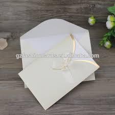 wedding invitation pocket envelopes diy pocket envelope design simple and ribbon wedding