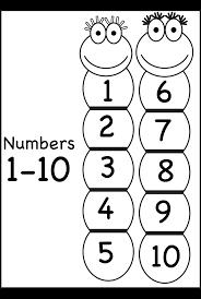 number chart u2013 1 10 free printable worksheets u2013 worksheetfun