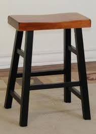 endearing saddle seat bar stool with natural 24 inch saddle seat