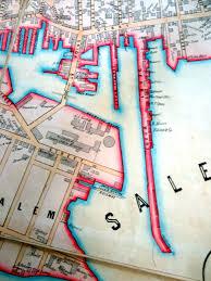 Salem Massachusetts Map by Salem 1851 Streetsofsalem