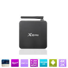android pro newest model x98 pro android box play store app