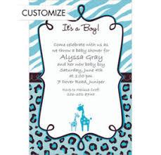 Safari Boy Baby Shower Ideas - party city baby shower invitations stephenanuno com
