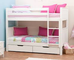 Bunk Beds From Rainbow Wood Farnham We Specialise In Childrens - White bunk bed with drawers