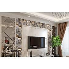 metallic kitchen backsplash glass mosaic kitchen tile copper aluminum tiles wall backsplash