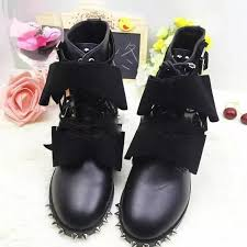 womens boots in style 2017 aliexpress com buy 2017 style fashion genuine leather bow
