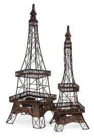 Eiffel Tower Decoration 46 Best Eiffel Images On Pinterest Eiffel Towers Wire And