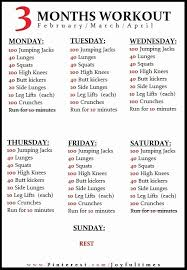free workout schedule work out plans at home new free printable am pm workout plan