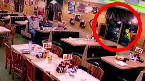 suv smashes into restaurant dining room while families are eating
