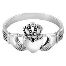 claddagh ring elya stainless steel claddagh ring target