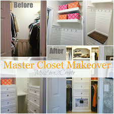 Cabinet Door Makeover Master Closet Makeover Update The Two Towers My Love 2 Create