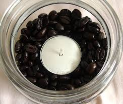 coffee bean candle aromatic coffee bean candles and easy gifts the happy