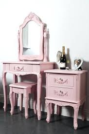 Vintage Style Vanity Table Pink Vanity Table Home Design Ideas And Pictures