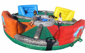 party rentals michigan hippo chow bungee run interactive kids