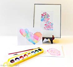 handmade watercolor cards stenciled watercolors tutorial things to make and do crafts and