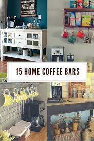11 genius ways to diy a coffee bar at home morning coffee