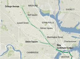 Boston Crime Map by State Will Move Forward With Scaled Down Green Line Plan The