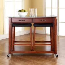 wood kitchen island cart kitchen carts on wheels movable meal preparation and service