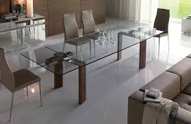 Dining Room Glass Tables Extendable Dining Room Tables 18049