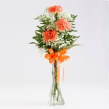 Vases For Floral Arrangements 3 Stem Carnation Bud Vase Martin U0027s Specialty Store Order Online