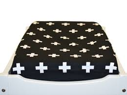 change table mat change table mat cover bassinet fitted sheet cross black