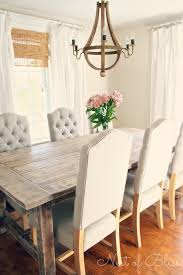 Rustic Farmhouse Dining Table And Chairs Farmhouse Dining Room Table And Chairs Mistanno