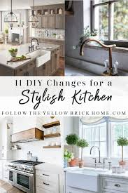 6 emerging kitchen storage design ideas for function follow the yellow brick home 11 diy changes for a stylish