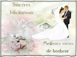 voeux mariage felicitations mariage maries