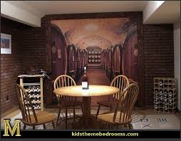 Kitchen Wall Mural Ideas Decorating Theme Bedrooms Maries Manor Tuscany Vineyard Style