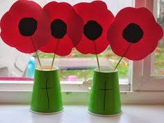 beautiful red poppy crafts for kids to make for remembrance