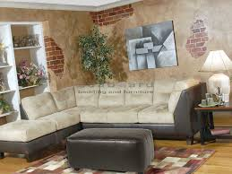 chocolate sectional sofa serta 2500 2pc two tone sectional collection on sale now