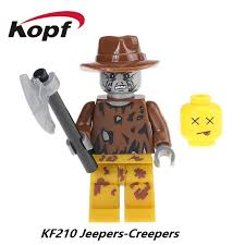 Jeepers Creepers Halloween Costume Jeeper Creeper Lego Minifig Lego Minifigures