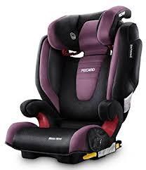 siege auto recaro monza recaro monza 2 2 3 highback booster car seat violet