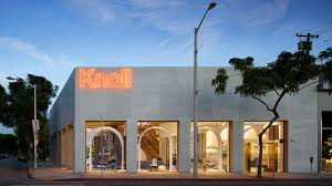 home design store knoll opens la store based on moroccan castle by johnston marklee