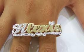 name rings images Gp two finger any name rings personalized r1 nikfine jpg