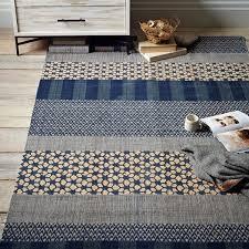 west elm rug istanbul rug west elm tile wool kilim rug aquamarine