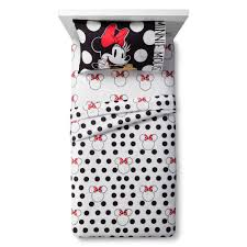 Minnie Mouse Bedspread Set Minnie Mouse Rock The Dots At Target Running On Disney