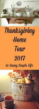 simple thanksgiving home decor tour 2017