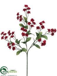 burgundy flowers artificial burgundy baby s breath silk baby s breath flowers