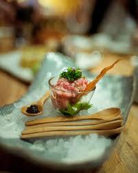 roka cuisine pin by sally alekna on food tuna tartar quail eggs