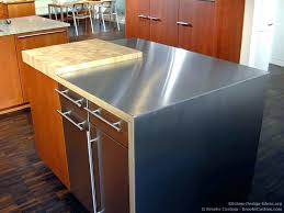 kitchen island with stainless top kitchen island stainless steel snaphaven