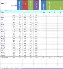 Grade Book Template Excel Grade Book Excel Template Gradebook