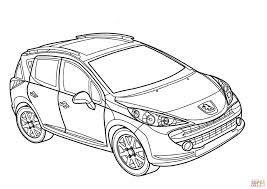 Peugeot 207 Sw Coloring Page Free Printable Coloring Pages Sw Coloring Page