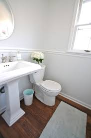 Pedestal Sink Bathroom Design Ideas Diy Bathroom Remodel Julie Blanner Entertaining U0026 Home Design