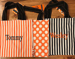 trick or treat bag trick or treat bucket personalized