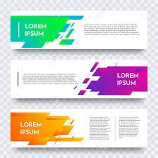 layout banner design white web banner design vector template background modern