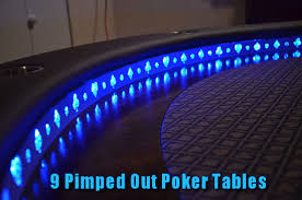 Custom Poker Tables 9 Awesome Poker Tables Refined Guy