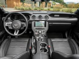 mustang inside 2018 mustang refresh released 2018 mustang photos cj pony parts