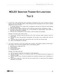 kaplan nursing pinterest kaplan nclex sle exam 3 by think rn via slideshare nclex rn